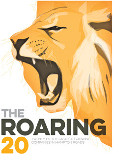 The Roaring 20 award by Inside Business